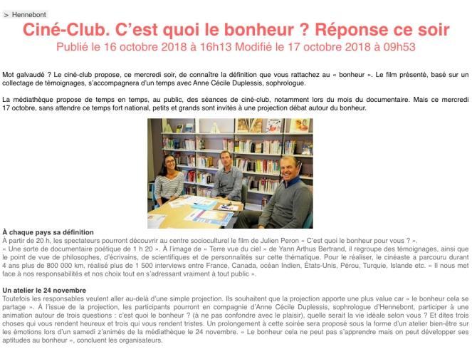 ARTICLE TELEGRAMME bonheur.001
